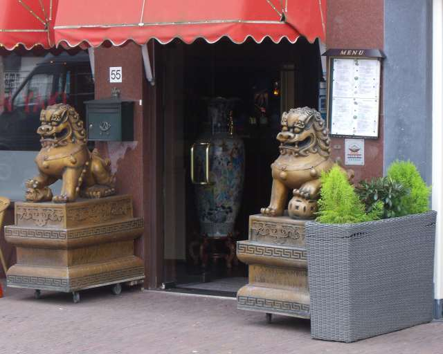 Asian Palace Lions