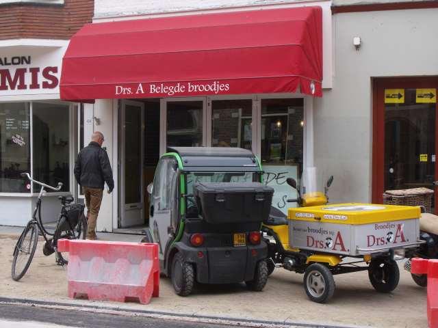Drs. A sandwich shop